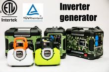 2kw portable gasoline generator digital inverter generator supply for Walmart