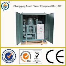 Portable type multi function special desi transformer oil regene