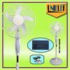 Small exhaust fan blades 1350RPM solar mini fan 16 bladeless stand fan