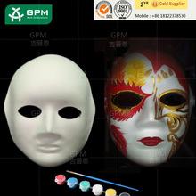 Livro branco Pulp Art Print Design veneziano máscaras máscaras