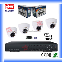 Home/office Indoor hot sale security cctv system 4ch