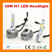 Hot sale Guangzhou dual side LED headlight for cars H4 H11 H7 H8 H9 9005 9006 h1 h3 9007