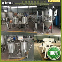 Brewery system used mash tun equipment 50l electric brewing system electric beer brew kettle for sale