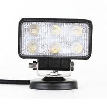 LED work light high Brightness on the market 18w LED work light 12v 24v Driving On Truck Jeep Atv 4WD Boat LED Driving light