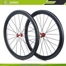 ultra light bicycle wheelset 60mm clincher 700c road bike wheels 3k matte