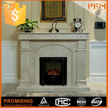 all hand carved plastic fireplace mantle