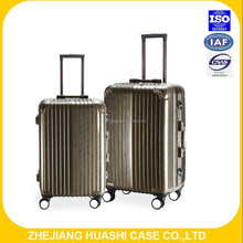 ABS +PC new lugggage travel luggage with 4 universal wheels