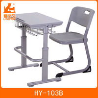 Factory price kids stuff desk and chair