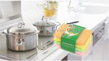 kitchen stainless steel sponge cleaning scourer