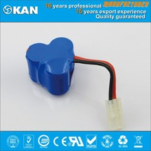 KAN 3.6V 3x4/5SC 2000mAh NiMH rechargeable battery pack for rc toy ,mini rc car, boat, and airplane