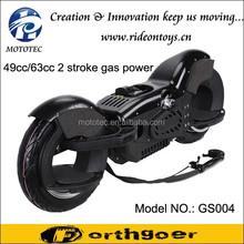 Yongkang Mototec two wheels self balancing scooter, petrol scooter 49cc
