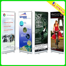 Outdoor/indoor roll up banners and signs,roll up banner design with various materials