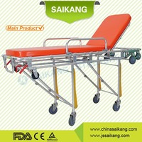 SKB039(C) Aluminumn Alloy Ambulance stretcher folding ambulance stretcher ambulance stretcher dimensions