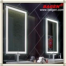 Modern home furniture fashion LED light mirror wall mirror BGL-008 series