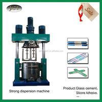 High speed Emulsifier Vacuum Dispersing Machine for self-adhesive non-slip stair treads rug