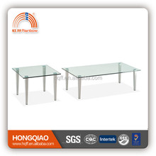 CT-04 ET-04 stainless steel glass modern coffee table