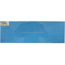 light blue glossy glazed ceramic wall tile top quality