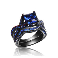 Alibaba China fashion jewelry new products black gold silver jewelry 925 silver black ring
