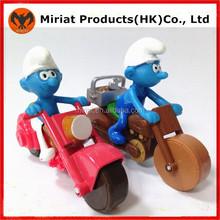China wholesale plastic Smurfs figure child plastic toys