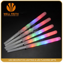 2015 China Wholesale Food Great Rainbow Color Flashing LED Cotton Candy Sticks