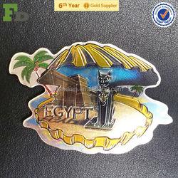 Metallic Foil Promotional Fridge Magnet