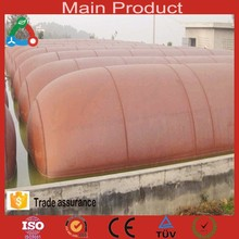 Animal dung, food waste, straw fermenting biogas digester for sale with flexible new material