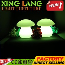 Top Quality CE Cetificate Light Changing Color Outdoor Waterproof christmas led lighting mushroom lamp
