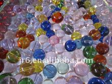 solid assorted glass ball for promotional gifts