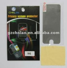 New arrival 3M privacy screen protector for iphone 5 5G