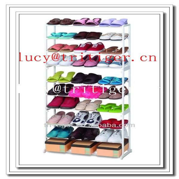 zapatero 10 estantes para almacenar hasta 30 pares de zapatos