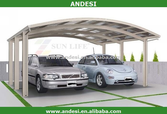 Used Metal Carports 2 Car : Car metal high snow load carport buy frame