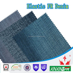 480gsm cotton non-combustible denim fabric for workwear