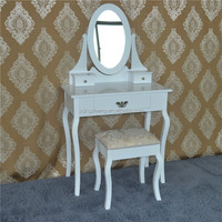 modern French chateau white dressing table bedroom furniture sets