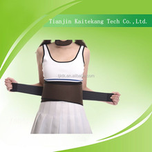 Curves trimming tourmaline thermal belt for back pain waist trimmer belt