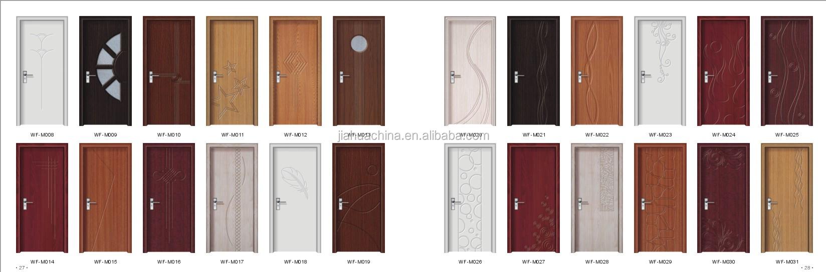 Baodu bedroom kitchen toilet pvc door factory sell view for Pvc exterior doors