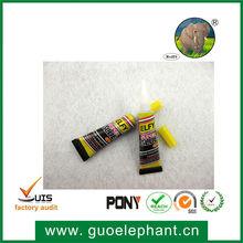 12pcs blister card super granite stone glue for South America