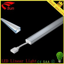 China supply 2014 new products high brightness led linear light , led batten light, led Aluminun proflie