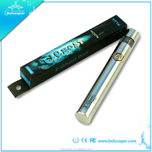 360 degree freely rotation adjustable voltage from 3.2v to 4.8v 1600mAh big capacity electronic cigarette long battery