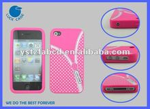 Unique Pink Silicone Mobile Phone Cases for Girls