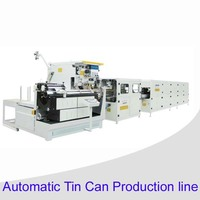 Automatic seam welding can making machine