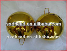 60mm Golden Stainless Steel Ball With Hook