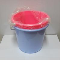 Plastic round water bucket 10L