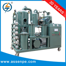 Used insulation transformer oil regeneration system machine,ZYD-I dielectric oil recycling machine