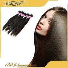 Spicy Hair 100% Virgin Human Hair Virgin Brazilian Straight Wave, Natural Straight Hair