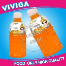 320ml Nata de coco filling Thai natural orange juice fruity drinks