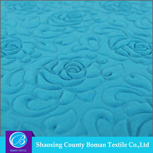 Dress fabric supplier 2015 new Dress Polyester emboss fabric