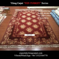 nanyang rufous 220x310cm double knots best handmade wool carpet