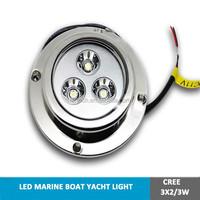 3X3W IP68 9W LED boat dock light ocean led underwater lights,waterproof, LED marine light