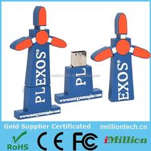 USB toy windmill/Windmill private mould USB drives/Gift umbrella USB