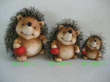 Hedgehog decoration for 2012 QY11-B017-1-2-3